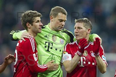 GER, 1.FBL,  FC Bayern Muenchen vs. Bayer 04 Leverkusen