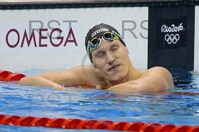 BRA, Olympia 2016 Rio, Schwimmen 200 Meter Freistiel, Vorlauf 5