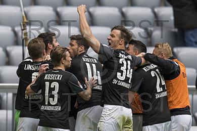 GER, 2.FBL,  TSV 1860 Muenchen  vs. SV Sandhausen