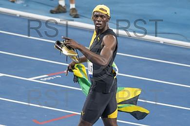 BRA, Olympia 2016 Rio, Leichtathletik, 100 meter Finale der Maenner