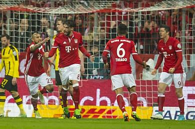 GER, DFB Pokal, Halbfinale,  FC Bayern Muenchen vs. Borussia Dortmund
