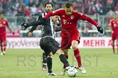 GER, 1.FBL,  FC Bayern Muenchen vs. 1. FC Kaiserslautern