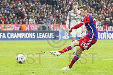 GER, UEFA CL, FC Bayern Muenchen vs.  CSKA Moskau