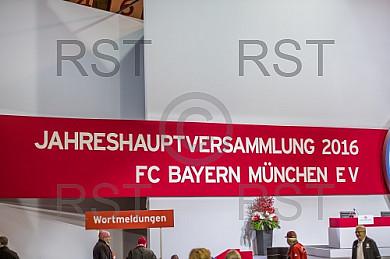 GER, Feature zur FC Bayern Jahreshauptversammlung 2016