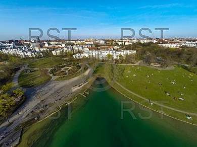 GER, Feature Luftbilder des Muenchner Westparks
