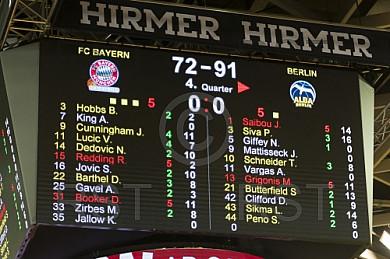 GER, BBL, FC Bayern Muenchen vs. Alba Berlin