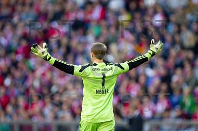 GER, 1.FBL,  FC Bayern Muenchen vs . 1. FSV Mainz 05