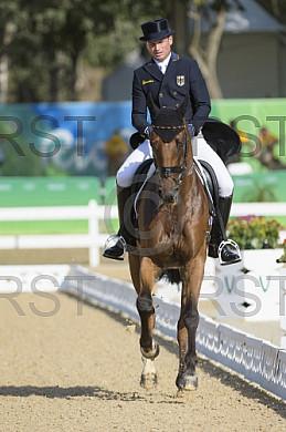 BRA, Olympia 2016 Rio, Pferdesport Dressur - Vielseitigkeitsreiten Tag 1