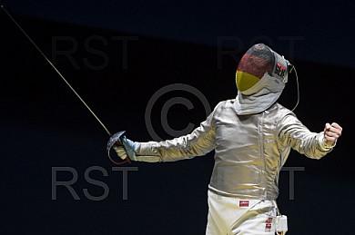BRA, Olympia 2016 Rio, Saebel Fechten ,Herren Einzel Vierttelfinale
