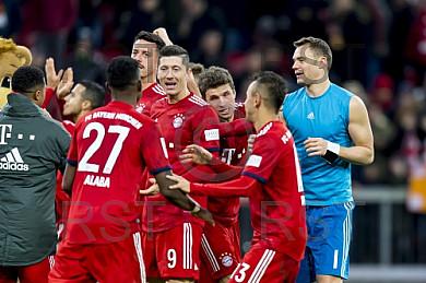 GER, 1.FBL,  FC Bayern Muenchen vs. 1. FC Nuernberg