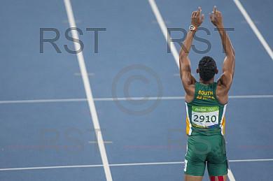 BRA, Olympia 2016 Rio, Leichtathletik, 400 Meter Finale der Maenner