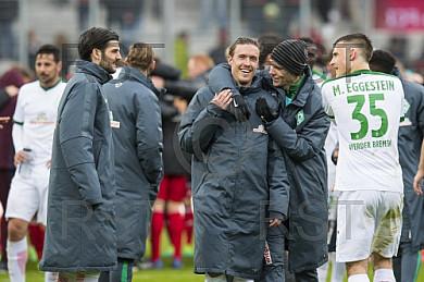 GER, 1.FBL,  FC Ingolstadt 04  vs.  Werder Bremen