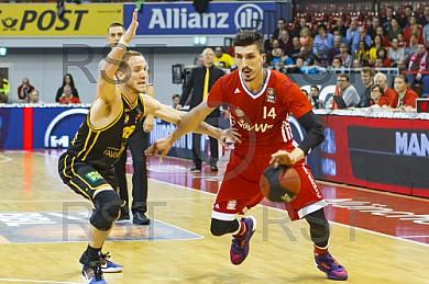 GER, Beko BBL Viertelfinale Spiel 5  , FC Bayern Muenchen vs. MHP Riesen Ludwigsburg